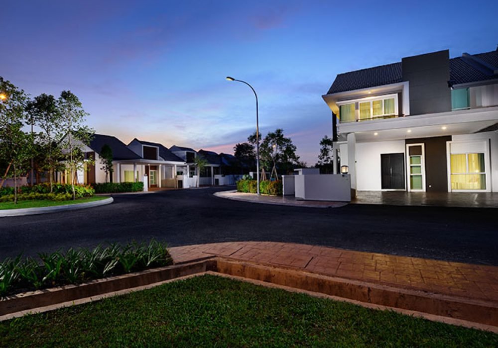 CYPRESS DOUBLE STOREY TERRACE HOUSE